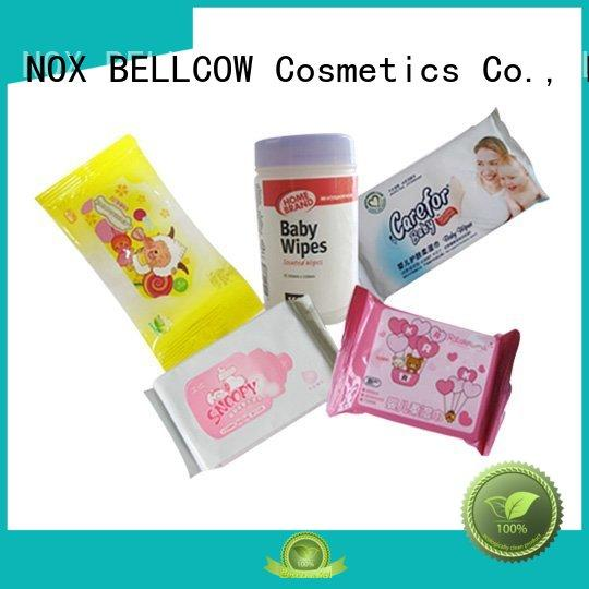 biodegradable baby wipes hand special mouth NOX BELLCOW Brand best baby wipes