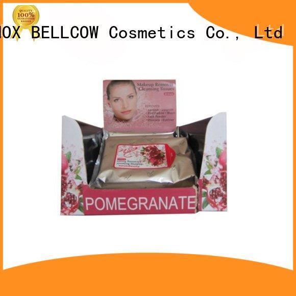 NOX BELLCOW makeupremover makeup remover wipes manufacturer for skincare