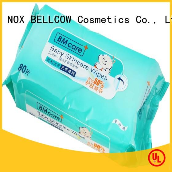 NOX BELLCOW pure baby wet wipes wholesale for ladies