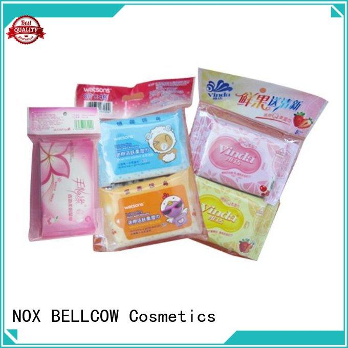 NOX BELLCOW cleansing oil cleansing wipes supplier for adult