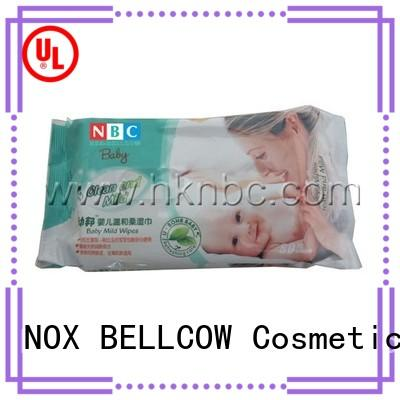 NOX BELLCOW wet baby water wipes wholesale for hand