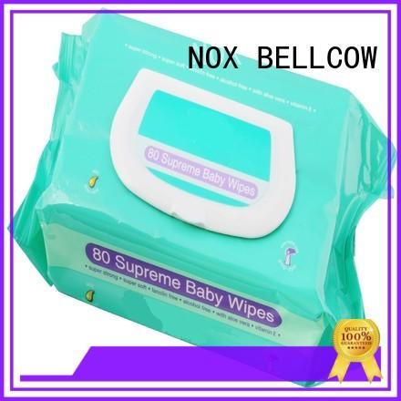 NOX BELLCOW tender best baby wipes series for hand