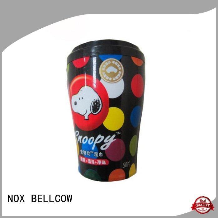 NOX BELLCOW tea men's facial cleansing wipes factory for man