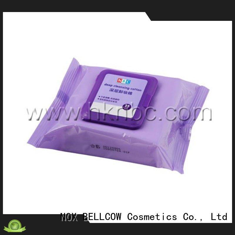 NOX BELLCOW wipes best makeup remover wipes manufacturer
