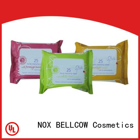 NOX BELLCOW adult cleansing wipes factory for ladies