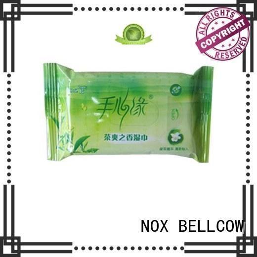 invigorating facial facial cleansing wipes green NOX BELLCOW Brand company