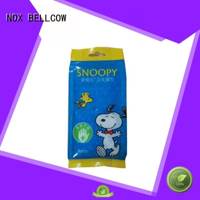 wipes for face cleaning wipe for skincare NOX BELLCOW