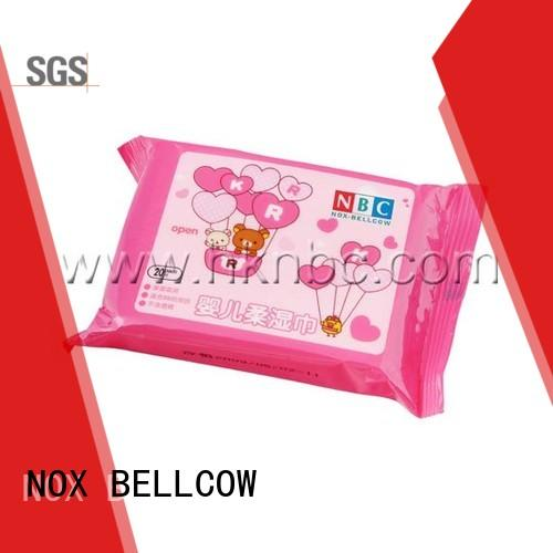 NOX BELLCOW cotton best natural baby wipes wholesale
