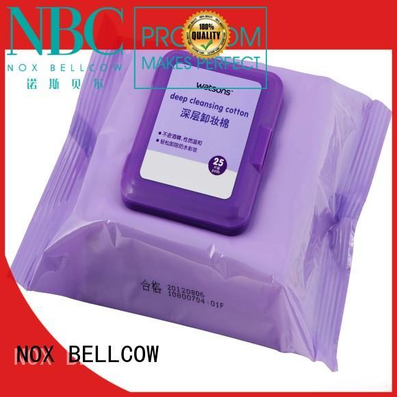 NOX BELLCOW cleansing best makeup wipes for sensitive skin manufacturer for skincare