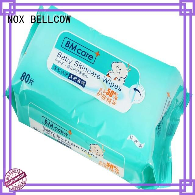 NOX BELLCOW vitamin E baby wet wipes series for skincare
