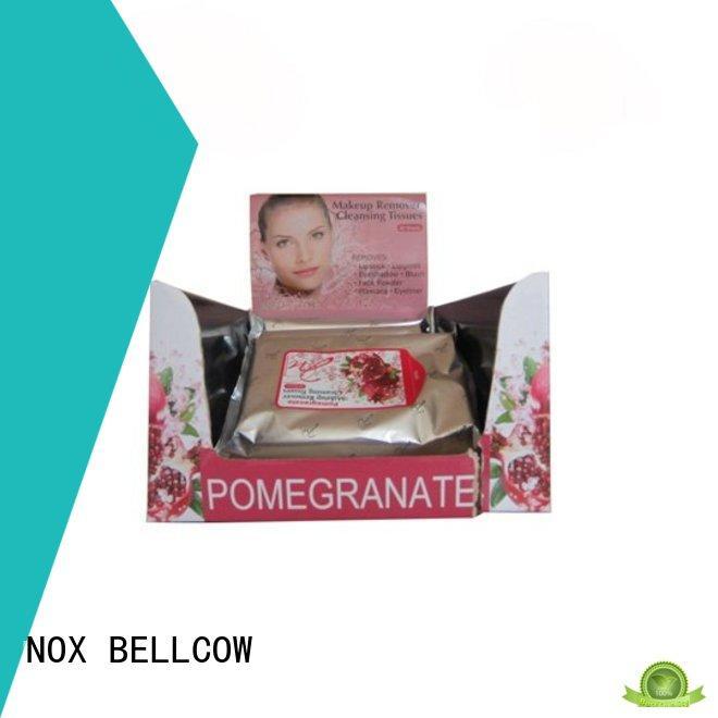 NOX BELLCOW make best makeup remover wipes manufacturer for neck