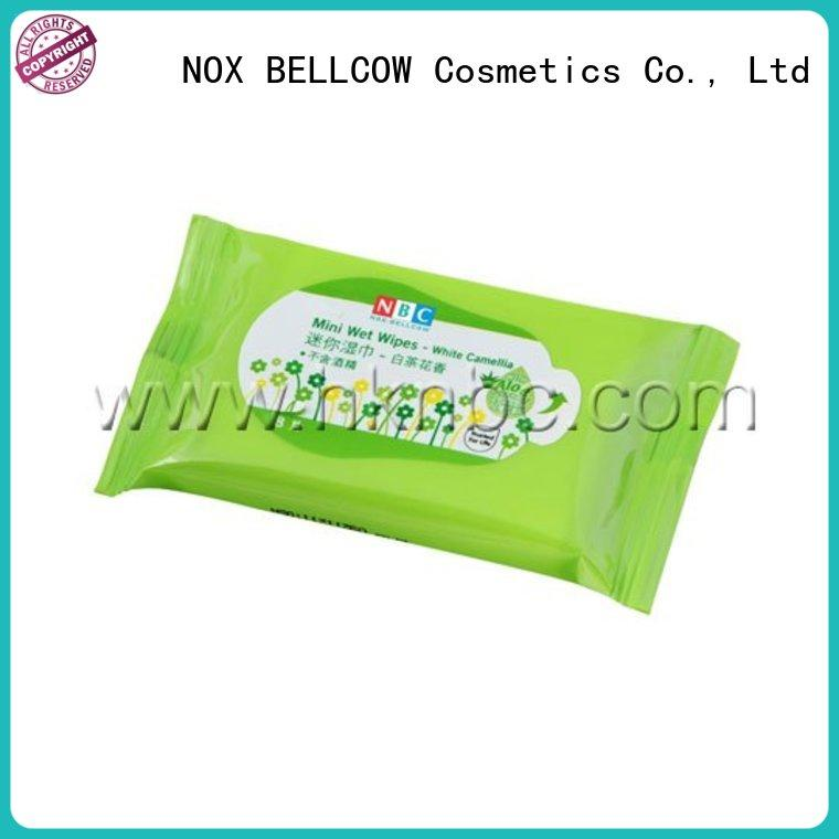 wet cleansing wipes car manufacturer for ladies