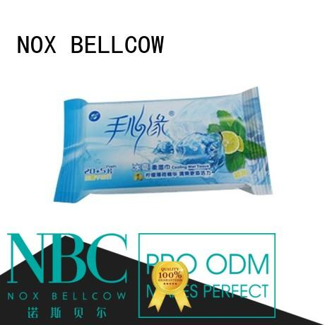 invigorating wipes for face cleaning car for adult NOX BELLCOW