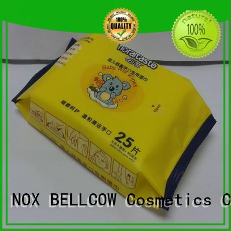 vitamin E biodegradable baby wipes wholesale for body NOX BELLCOW