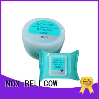 NOX BELLCOW cotton makeup wipes for sensitive skin factory for skincare