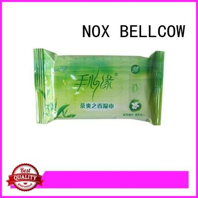 NOX BELLCOW green tea cleansing wipes wholesale for ladies