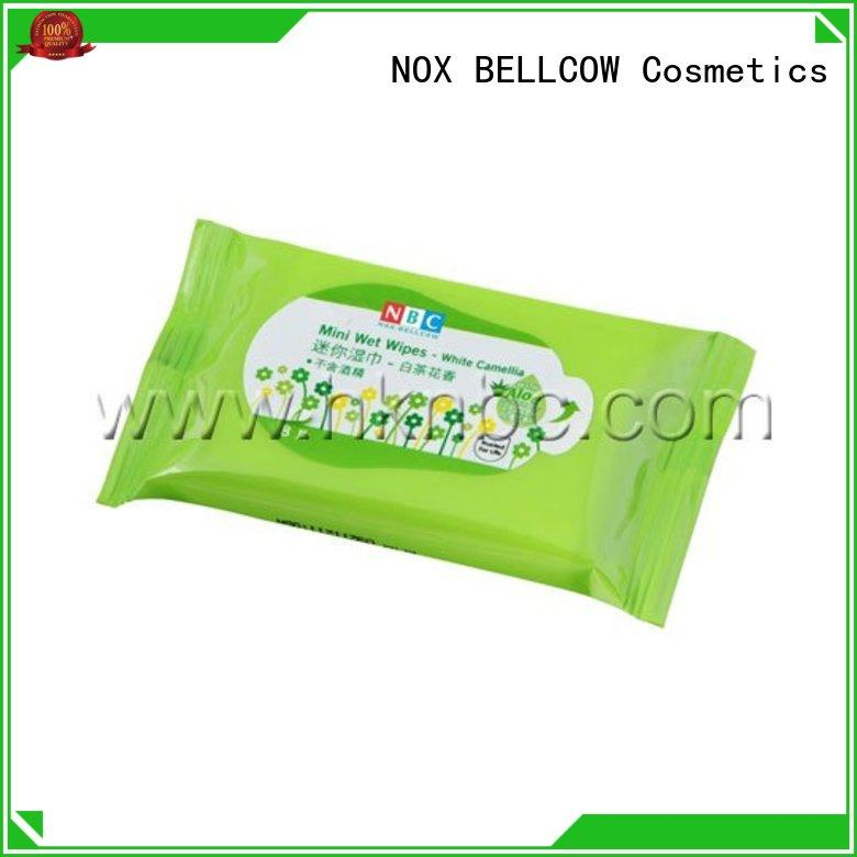 NOX BELLCOW oil best facial cleansing wipes supplier for skincare