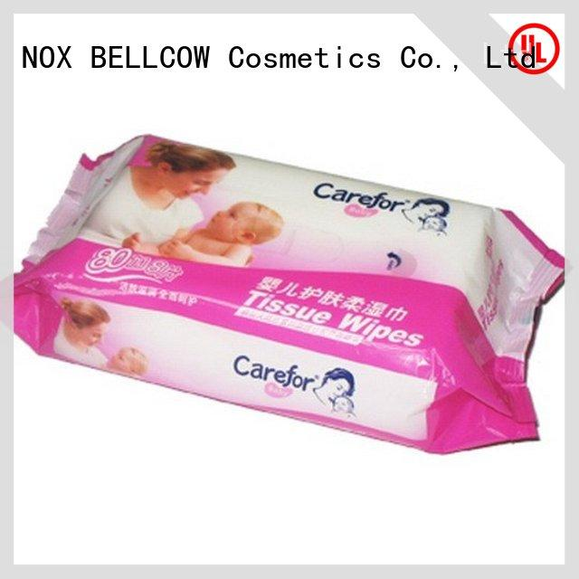 NOX BELLCOW moisturizing baby water wipes manufacturer for ladies