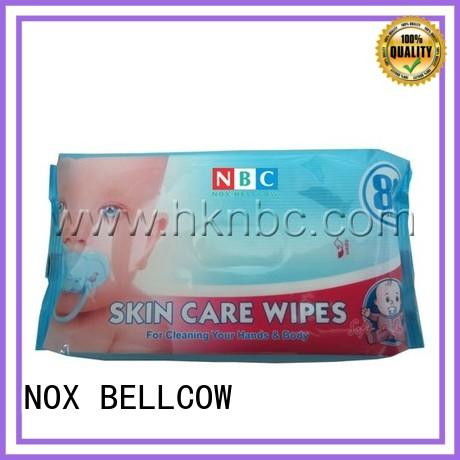 NOX BELLCOW pure best natural baby wipes supplier