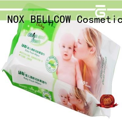 NOX BELLCOW moisturizing baby face wipes factory for hand