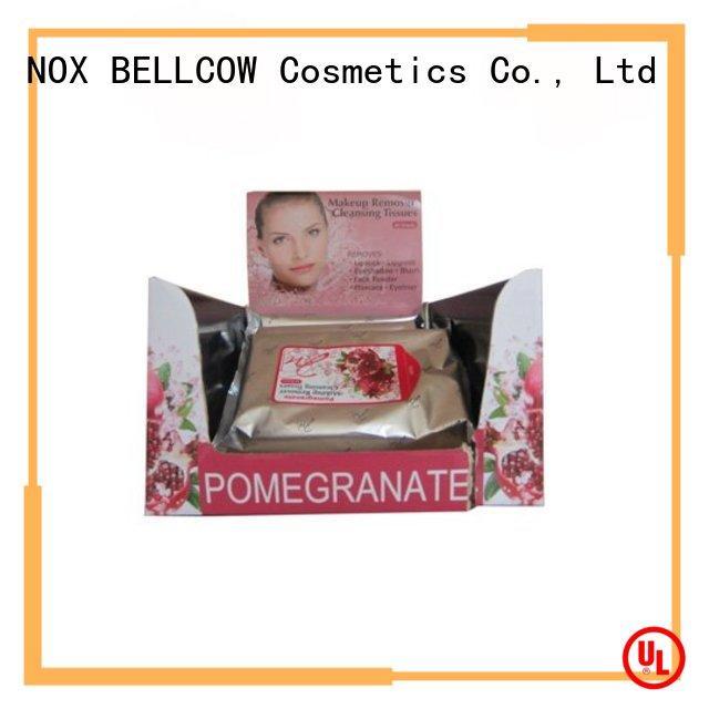 NOX BELLCOW tencel fiber makeup remover tissue factory for neck
