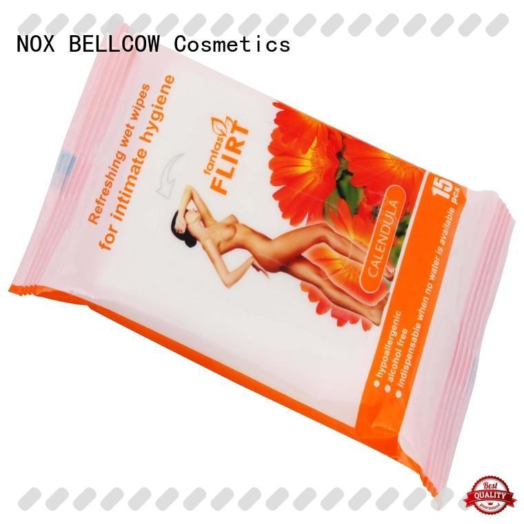 NOX BELLCOW individual cleansing wipes wholesale for ladies
