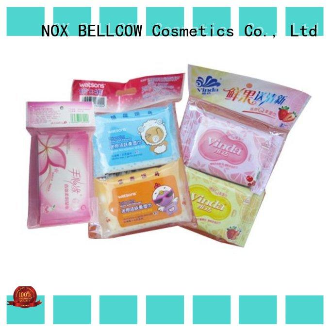 NOX BELLCOW mans best cleansing wipes factory for man