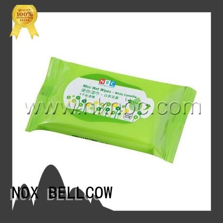 NOX BELLCOW wet best cleansing wipes supplier for skincare