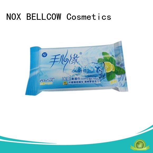 NOX BELLCOW 10s facial cleansing wipes wholesale for skincare
