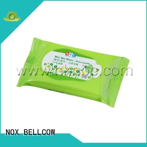 NOX BELLCOW scented men's cleansing wipes supplier for man