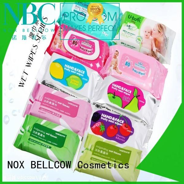 NOX BELLCOW cooling best facial cleansing wipes factory for man
