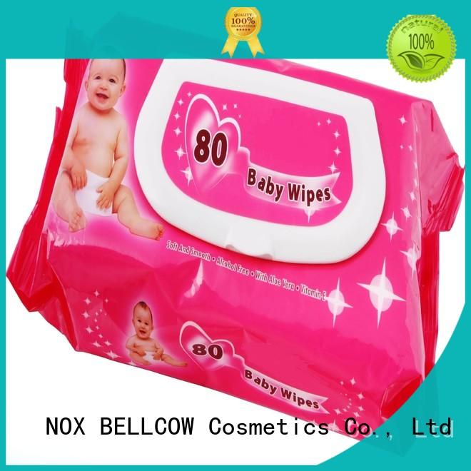 NOX BELLCOW Brand tender hand best baby wipes manufacture