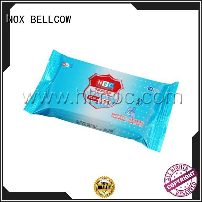NOX BELLCOW green tea oil cleansing wipes cleansing for hand