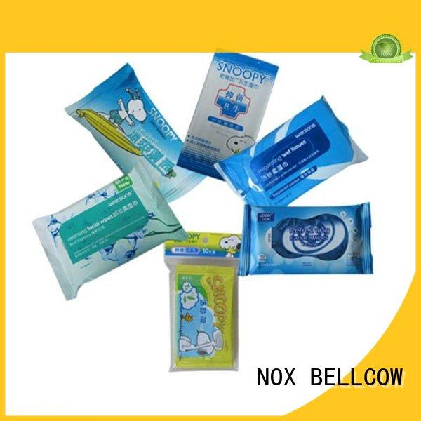 NOX BELLCOW lemon cleansing wipes wholesale for ladies