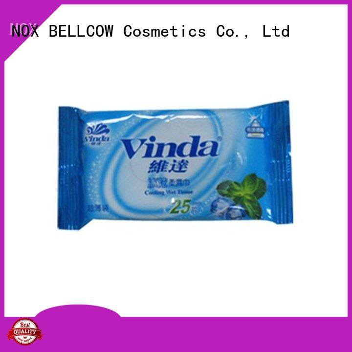 NOX BELLCOW invigorating oil cleansing wipes supplier for ladies