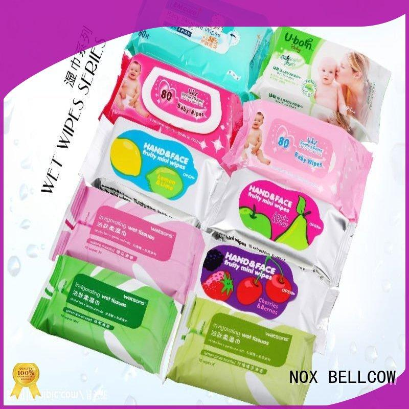 NOX BELLCOW control oil cleansing wipes manufacturer for skincare