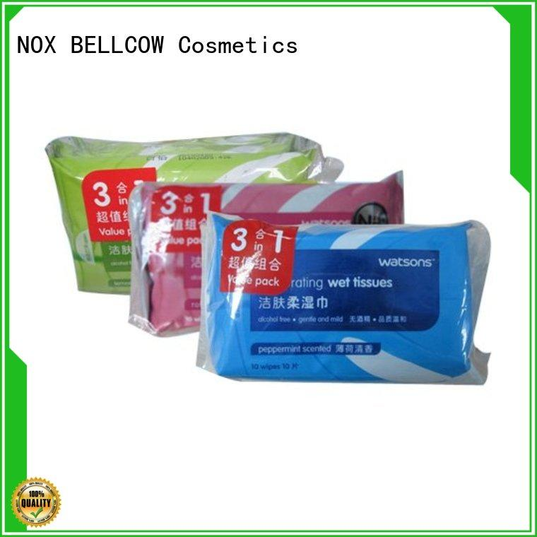NOX BELLCOW cooling best facial cleansing wipes manufacturer for face