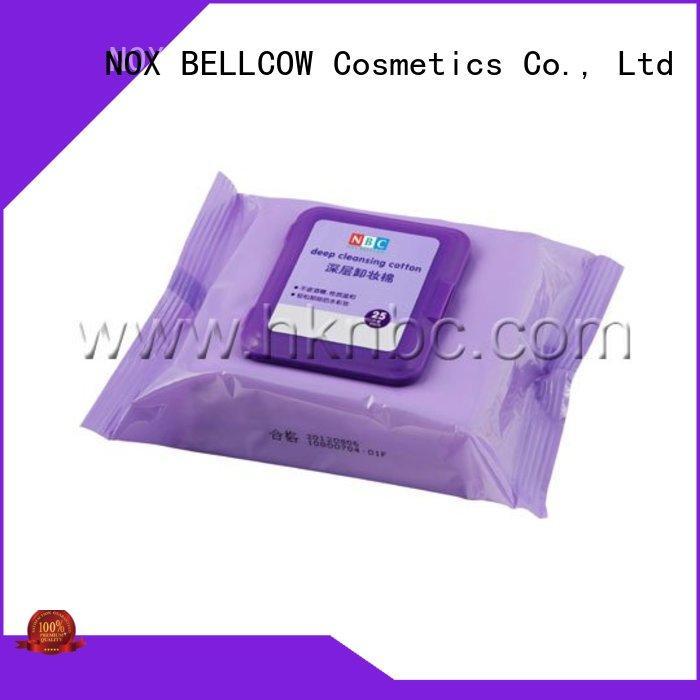 NOX BELLCOW makeup best makeup wipes supplier for ladies
