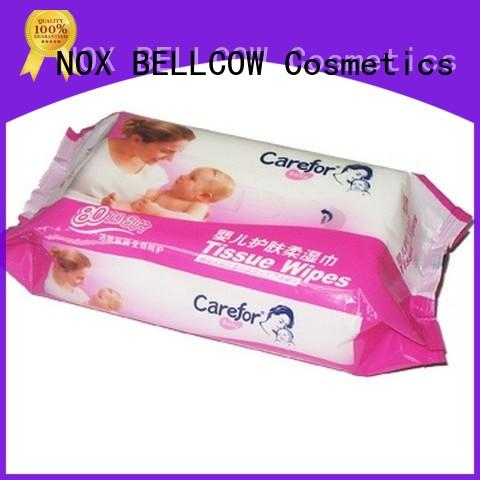 NOX BELLCOW pure baby face wipes wholesale