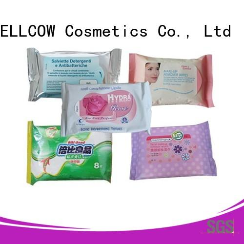 NOX BELLCOW wet facial cleansing wipes factory for adult