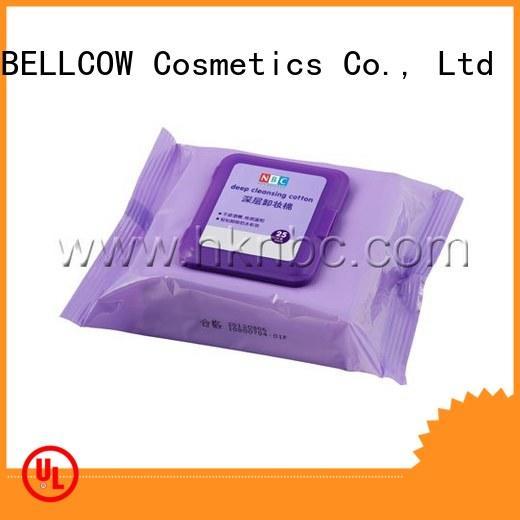 NOX BELLCOW makeup makeup remover tissue supplier for skincare