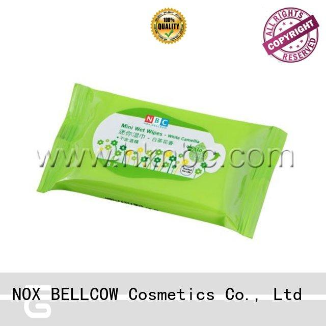 NOX BELLCOW tissues best cleansing wipes supplier