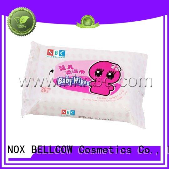 wipes special biodegradable baby wipes cotton fragrance NOX BELLCOW Brand