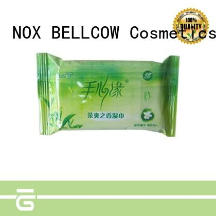 NOX BELLCOW peppermint oil cleansing wipes manufacturer for women