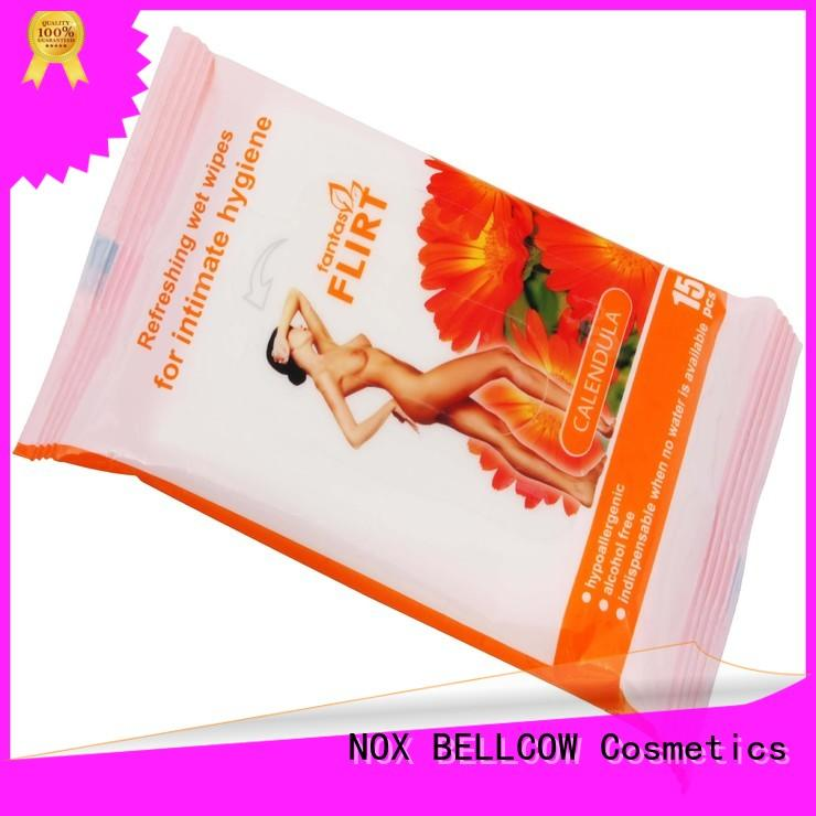 NOX BELLCOW cleansing men's cleansing wipes wholesale for ladies