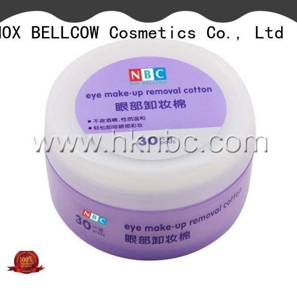 NOX BELLCOW cotton makeup remover tissue wholesale for skincare