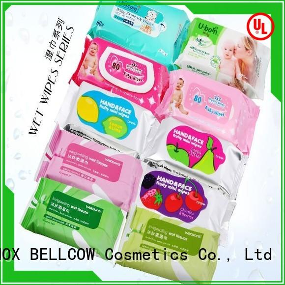 NOX BELLCOW wipe best cleansing wipes wholesale for skincare