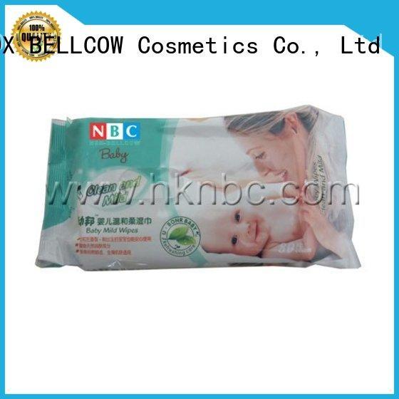 NOX BELLCOW tender newborn baby wipes series for body