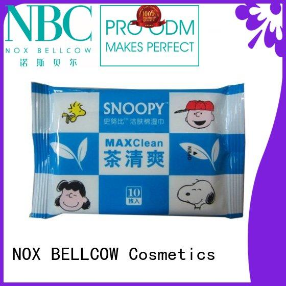 best cleansing wipes for acne mini for hand NOX BELLCOW