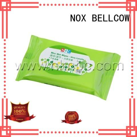 NOX BELLCOW Brand mans snoopy facial cleansing wipes manufacture